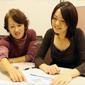 Yumiko Saga and Aiko Sada