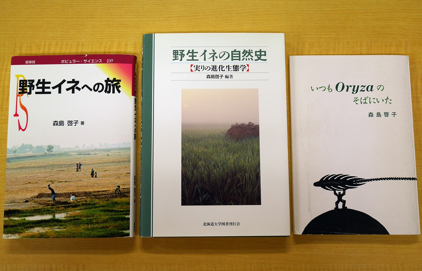 Books and Essay Collections of Dr. Morishima.